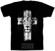 Lion Cross - Black