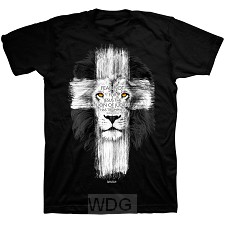 Lion Cross - Black