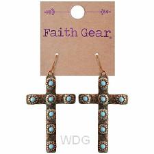 Copper crosses