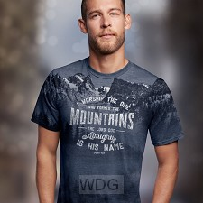 Who made the mountains - All-over print