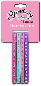 Dance Sing Praise - set of 4 bracelets