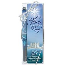 Pen/bookmark glory to the newborn king