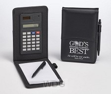 Notepad/calculator God's direction