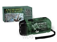 Led pump flashlight anchored in Christ
