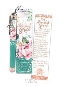 Pen/bookmark abundant grace