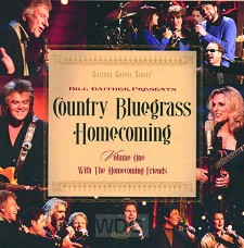 Country Bluegrass Homecoming Vol. 1 (CD)