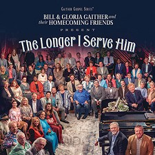 The Longer I Serve Him  (CD)