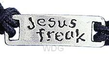Jesus Freak - Leadfree pewter tag