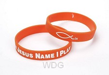 Armband rubber in Jesus name I play...