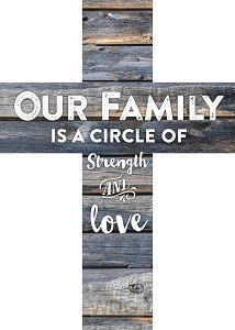 Our family is a circle of strength
