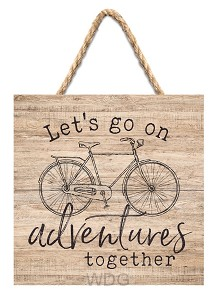 Let's go on adventures together