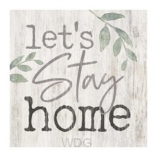 Let's stay home