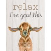 Relax I've goat this