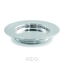 Polished Aluminium Stacking Bread Plate