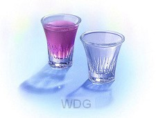 20 Communion Glasses