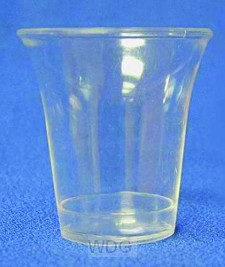 1000 Clear Communion Cups (Approx 20 ml)