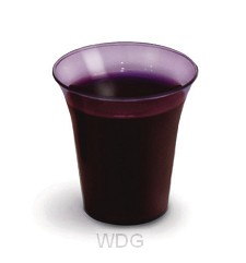 1000 Communion Cups - Grape color
