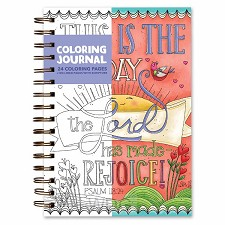 Coloring journal this is the day