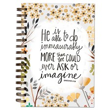 Wirebound journal He is able