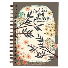 Wirebound journal great plans