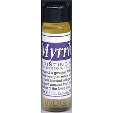 Anointing oil 7,4ml myrrh