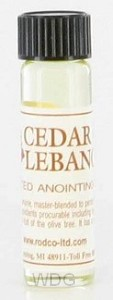 Anointing oil 7,4ml cedar of lebanon
