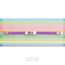 Cutout cross - Purple - Silicone bracele