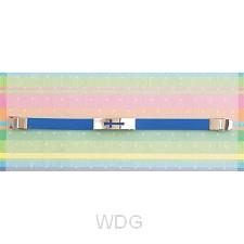 Cutout cross - Blue - Silicone bracelet