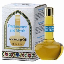 Anointing oil 30ml myrrh & frankincense
