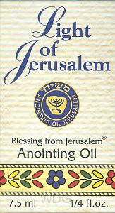 Anointing oil light of jerusalem 7.5ml