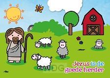 Kaart Jezus is de goede Herder