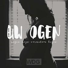 Kaart zwangerschap psalm 139:16 Uw ogen