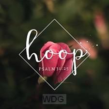 Kaart Psalm 31:25 hoop