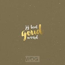 Kaart Jesaja 43:4 jij bent goud waard