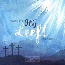 Kaart pasen matteus 28:5-6