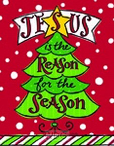 Jesus is the reason for the season-Tree