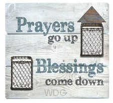 Prayers up Blessings down -Metal accents