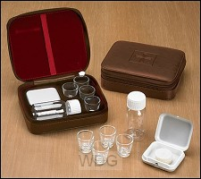4 cup portable communion set