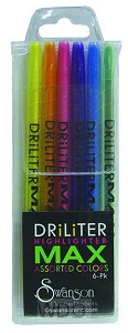 Driliter Highlighters - Set of 6