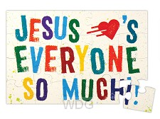 Jesus loves everyone so much
