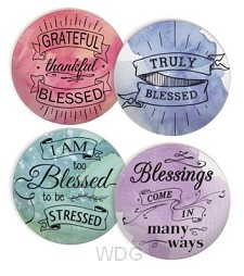 Coaster set blessed set4