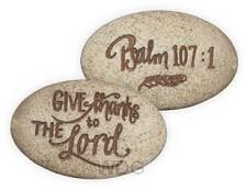 Psalm stone psalm 107:1 onverpakt