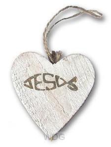 Jesus (Herzanhänger - 9,5 cm)