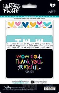 Paint-it application cards - 5 pieces
