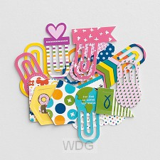 Colorful - Designer clips