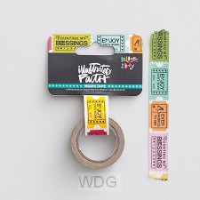 Delight in His day - Washi - Ticket