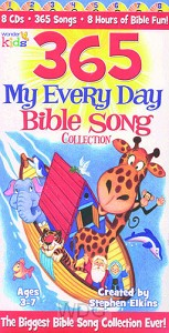 365 My Every Day Bible Song Coll. (8-CD)