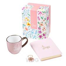 Be Grateful- Mug Journal Keyring