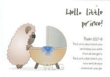 Wenskaart Hello little prince!