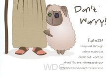 Wenskaart Don t worry!